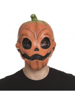 Máscara de Calabaza Terrorífica de Látex