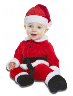 Disfraz de Papá Noel Navideño para Bebé