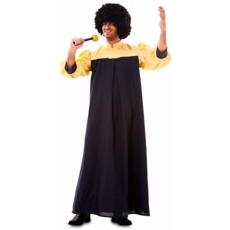 Disfraz Gospel Negro para Adulto