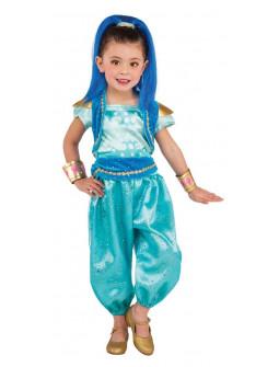 Disfraz de Genio Shine para Niña