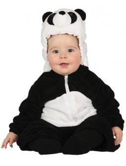 Disfraz de Oso Panda Divertido para Bebé