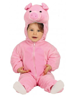 Disfraz de Cerdito Divertido para Bebé
