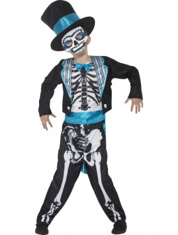 Disfraz de catrin Mexicano para Niño