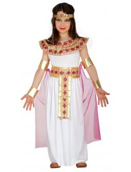 Disfraz de Faraona Egipcia Infantil