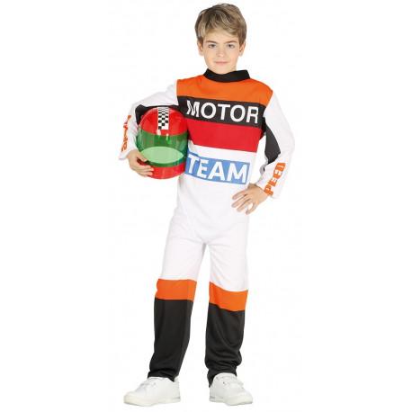 Disfraz de Piloto de Moto GP para Niño