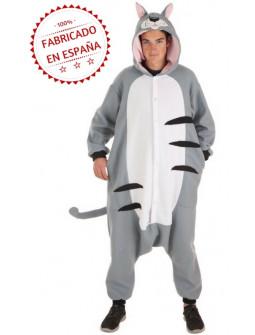 Disfraz de Gato Pijama para Adulto