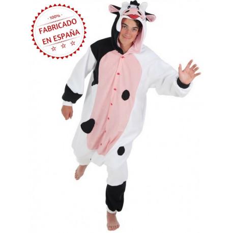 Disfraz de Vaca Pijama para Adulto