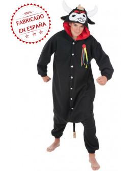 Disfraz de Toro Bravo Pijama para Adulto