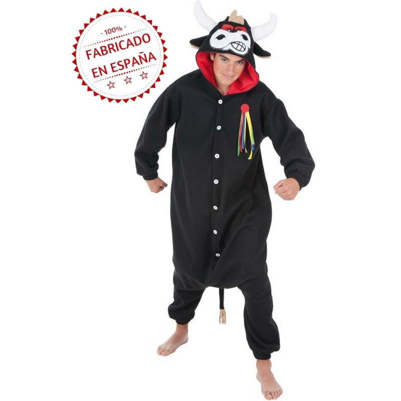 2d8b96e293 Disfraz de Toro Bravo Pijama para Adulto