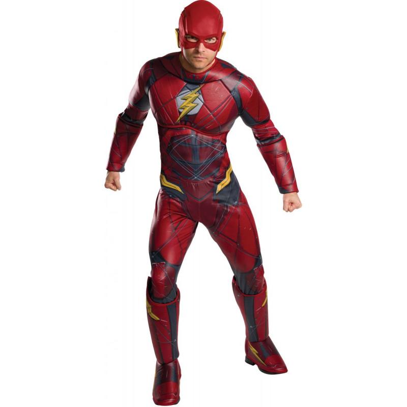 Disfraz de Flash Liga de Justicia para Hombre  b43bc2208b0