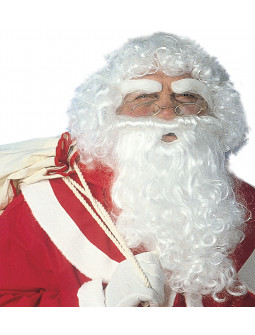 Set Papa Noel Lujo