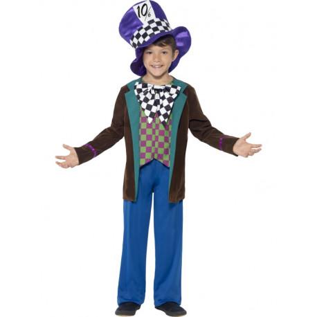 Disfraz de Sombrerero Loco para Niño