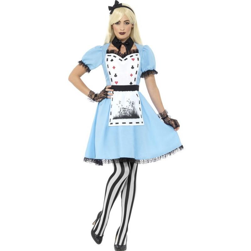 1ba4e8523 Disfraz de Alicia Gótica para Mujer | Comprar Online