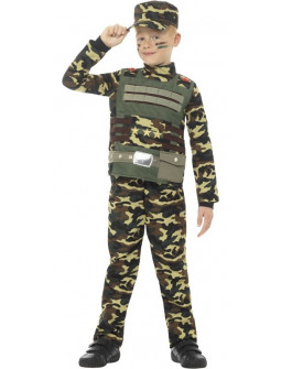 Disfraz de Comando Militar para Niño