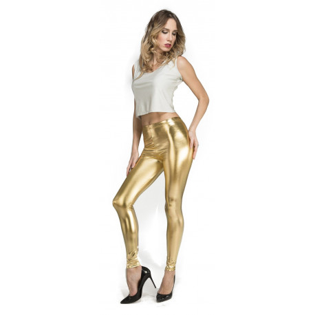Leggings Dorados