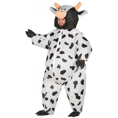 Disfraz de Vaca Hinchable para Adulto