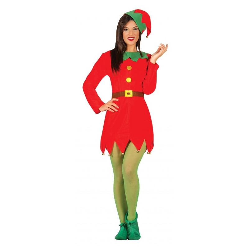 Disfraz de elfa navide a para mujer comprar online - Disfraces para navidad ...
