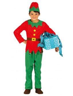 Disfraz de Elfo Navideño para Niño