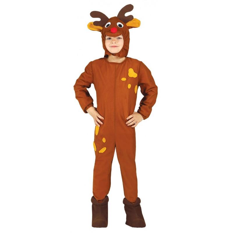 Disfraz de reno rudolf de pap noel infantil comprar online - Disfraz de reno nina ...