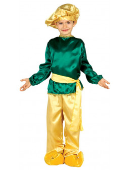 Disfraz de Paje del Rey Baltasar Infantil