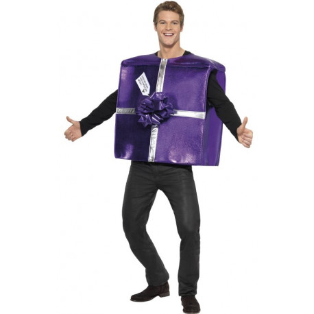 Disfraz de Regalo de Navidad para Adulto