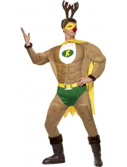 Disfraz de Super Reno Rudolf para Hombre
