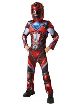 Disfraz de Power Ranger Rojo Musculoso 2017 para Niño