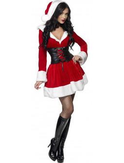 Disfraz de Mamá Noel con Corpiño para Mujer