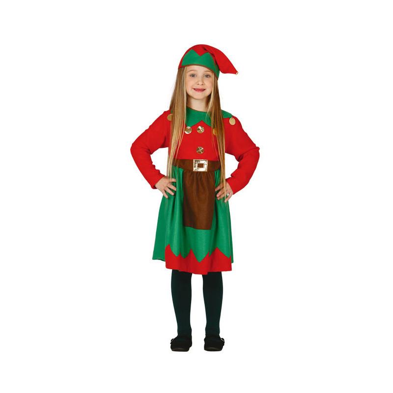 disfraz de elfa navidea para nia - Disfraz De Elfa