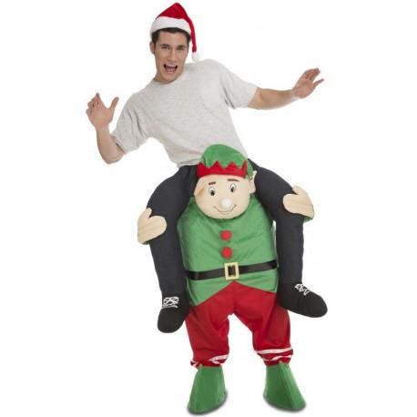 Disfraz de Elfo Navideño a Hombros para Adulto