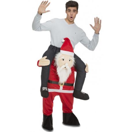 Disfraz de  Papá Noel a Hombros para Adulto