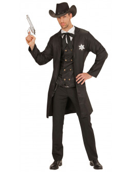 Disfraz de Sheriff Oscuro para Hombre