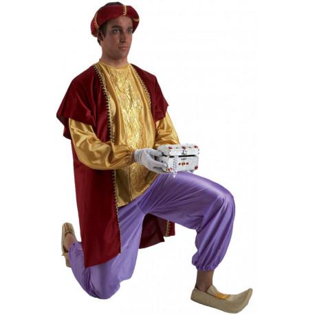 Disfraz de Paje de Baltasar para Hombre