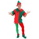 Pantys Rojos y Verdes de Elfo Navideño