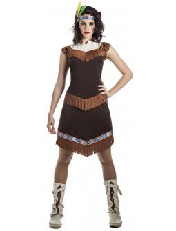 Disfraz de India Cherokee para Mujer
