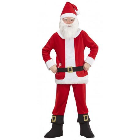 Disfraz de Papá Noel con Barriga para Niño