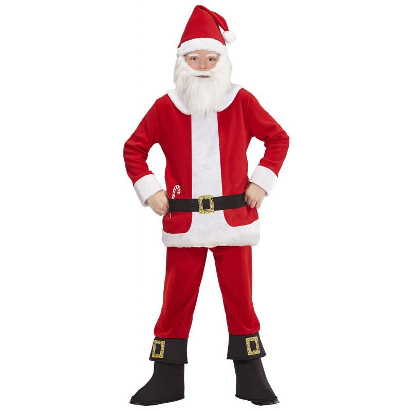 e82980a7a Disfraz de Papá Noel con Barriga para Niño