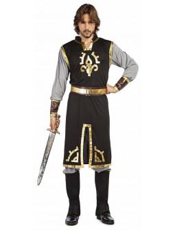 Disfraz de Caballero Medieval Elegante para Hombre