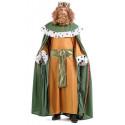 Disfraz de Rey Mago Gaspar de Alta Calidad para Hombre