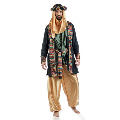 Disfraz de Califa Árabe Premium para Hombre