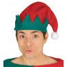 Gorro de Elfo Navideño Rojo y Verde