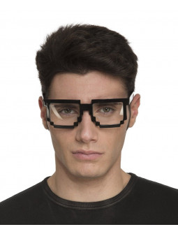 Gafas Estilo Píxel Negras