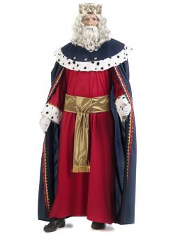 Disfraz de Rey Mago Melchor de Alta Calidad para Hombre