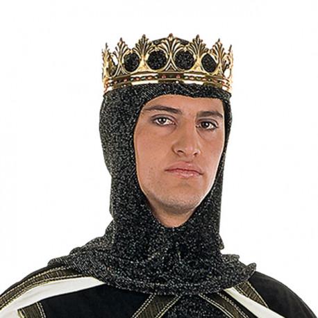 Corona Metálica Dorada de Rey