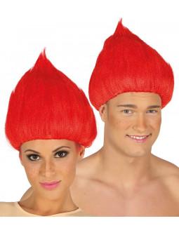 Peluca Roja de Troll