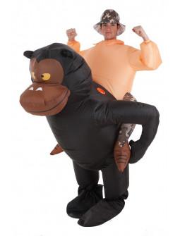 Disfraz de Gorila Hinchable con Aventurero