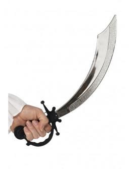 Espada Pirata con Empuñadura Negra