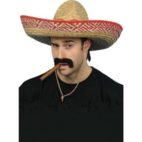Sombrero de Paja de Mejicano para Adulto
