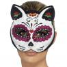 Máscara de Gatrina Blanca y Rosa