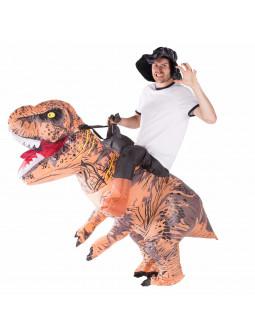 Disfraz a Hombros de Tiranosaurio Rex Hinchable